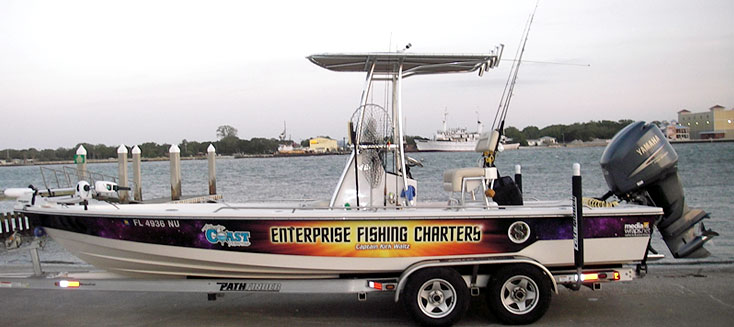 Enterprise Fishing Boat